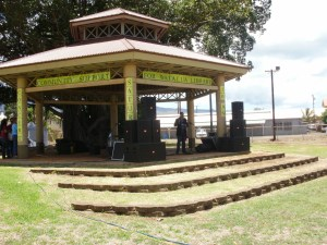 Waialua Bandstand