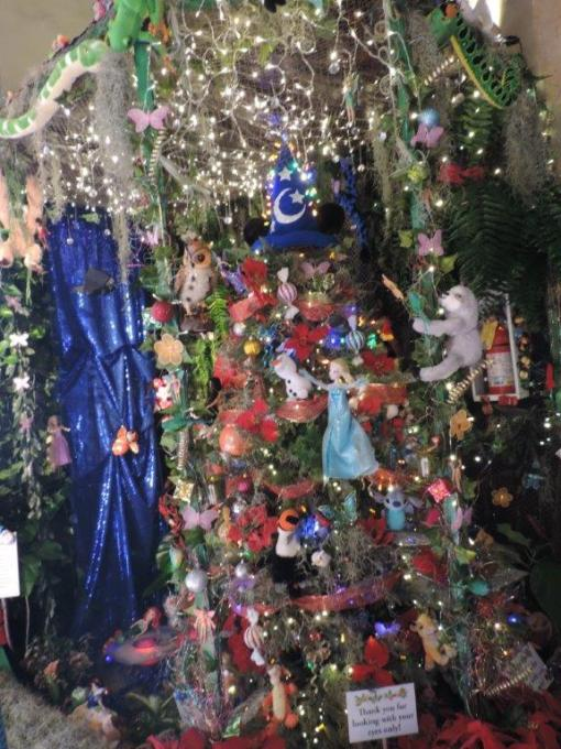 The Legislative Branch's Enchanted Rainforest Christmas Tree at Honolulu Hale. Mahalo to the all of our hard working and creative volunteers.