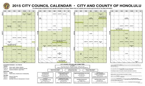 Council Calendar 2015 - web