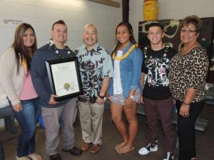 Chair Martin with Stalcup Ohana