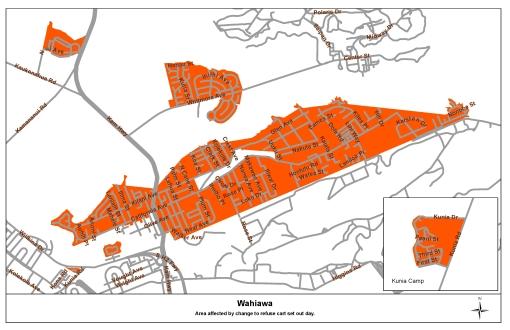 Wahiawa Route